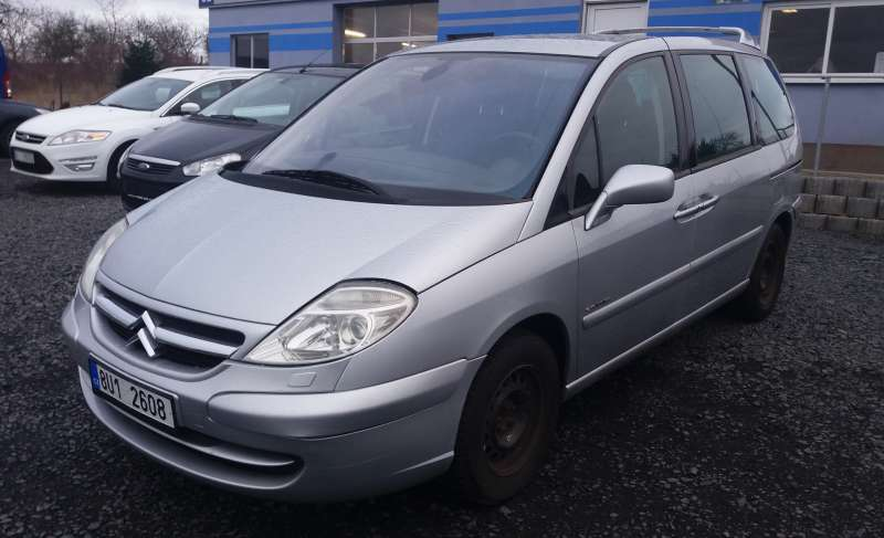 Citroen C8 2,2 HDI Exclusive 7.míst