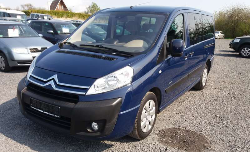Citroen Jumpy 2,0 HDI 88 kW Serviska Long